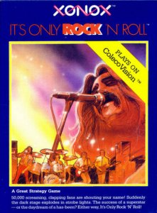 It's Only Rock 'N Roll per ColecoVision