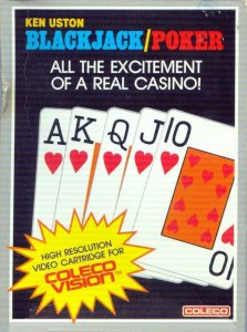 Ken Uston's Blackjack/Poker per ColecoVision