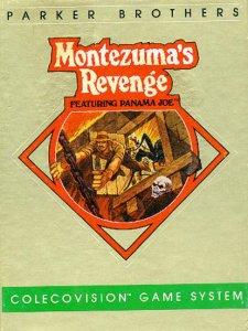 Montezuma's Revenge: Starring Panama Joe per ColecoVision