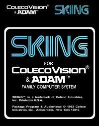 Skiing per ColecoVision