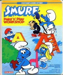 Smurf: Paint 'n' Play Workshop per ColecoVision