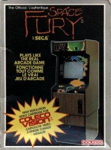 Space Fury per ColecoVision