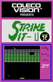 Strike It per ColecoVision