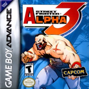 Street Fighter Alpha 3 per Game Boy Advance