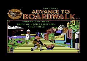 Advance to Boardwalk per Commodore 64