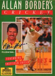 Allan Border's Cricket per Commodore 64