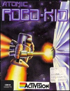 Atomic Robo-Kid per Commodore 64