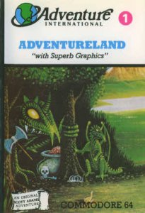 Adventureland per Commodore 64