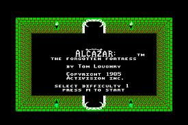 Alcazar: The Forgotten Fortress per Commodore 64