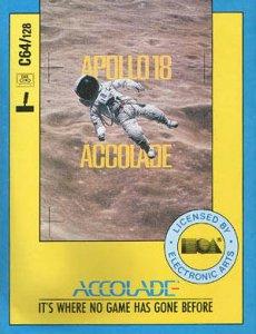Apollo 18: Mission to the Moon per Commodore 64