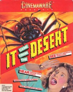 It Came From the Desert per PC MS-DOS