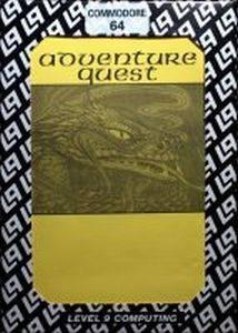 Adventure Quest per Commodore 64