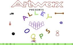 Alley Oops per Commodore 64