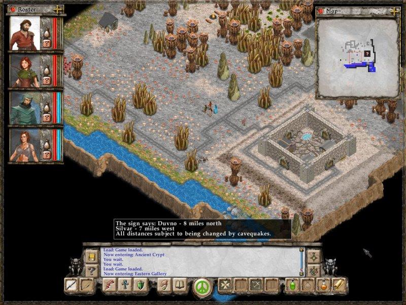 La soluzione di Avernum: Escape From the Pit