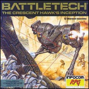 BattleTech: The Crescent Hawk's Inception per Commodore 64