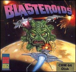 Blasteroids per Commodore 64