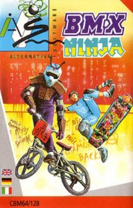 BMX Ninja per Commodore 64