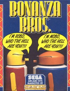 Bonanza Bros per Commodore 64