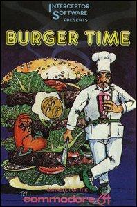 BurgerTime per Commodore 64