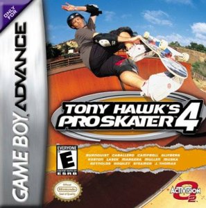 Tony Hawk's Pro Skater 4 per Game Boy Advance