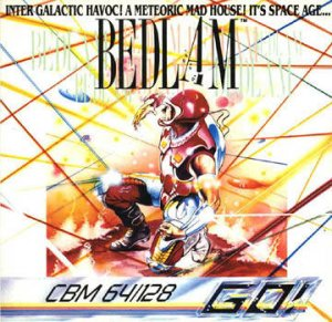 Bedlam per Commodore 64