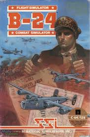 B-24 Combat Simulator per Commodore 64