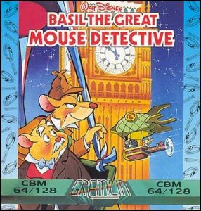 Basil the Great Mouse Detective per Commodore 64