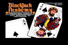 Blackjack Academy per Commodore 64