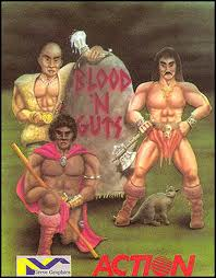 Blood and Guts per Commodore 64