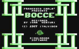 Bocce per Commodore 64