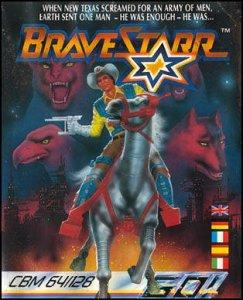 Bravestarr per Commodore 64