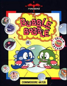 Bubble Bobble per Commodore 64
