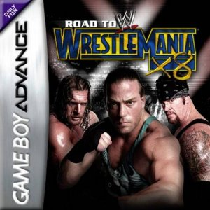 WWE Road to WrestleMania X8 per Game Boy Advance