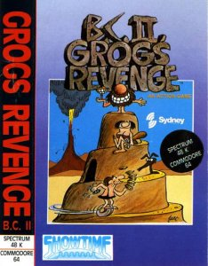 BC's Quest for Tires II: Grog's Revenge per Commodore 64