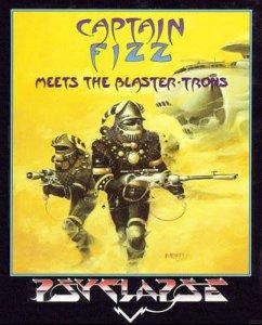 Captain Fizz Meets the Blaster-Trons per Commodore 64