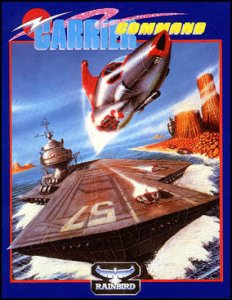 Carrier Command per Commodore 64