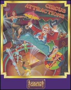 Circus Attractions per Commodore 64