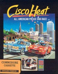 Cisco Heat: All American Police Car Race per Commodore 64