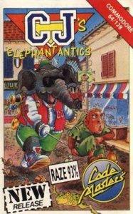 CJ's Elephant Antics per Commodore 64