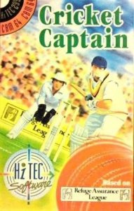 Cricket Captain per Commodore 64