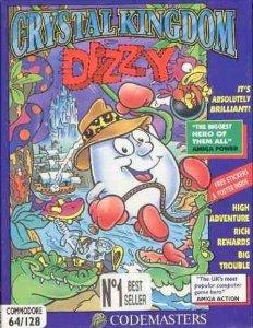 Crystal Kingdom Dizzy per Commodore 64