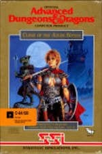 Curse of the Azure Bonds per Commodore 64