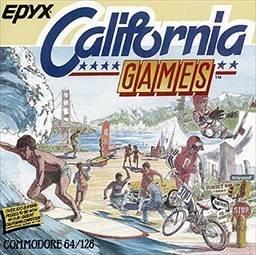 California Games per Commodore 64
