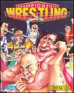 Championship Wrestling per Commodore 64
