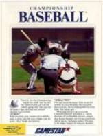 Championship Baseball per Commodore 64