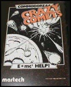 Crazy Comets per Commodore 64
