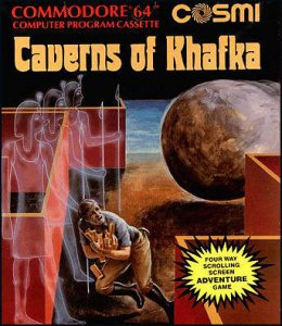 Caverns of Khafka per Commodore 64