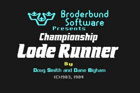 Championship Lode Runner per Commodore 64