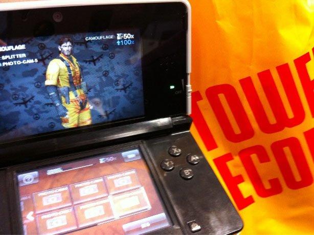 Ecco il sistema di camuffamento di Metal Gear Solid: Snake Eater 3D