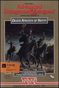 Death Knights of Krynn per Commodore 64